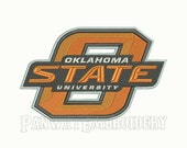 5 Size Oklahoma State Cowboys Embroidery Designs, Machine Embroidery Designs, College Football Embroidery Designs - INSTANT DOWNLOAD