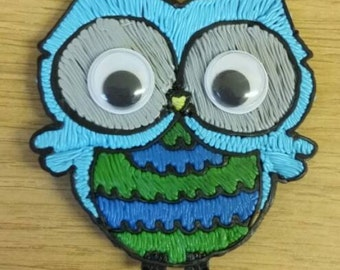 Bright owl magnets (3D Printed)