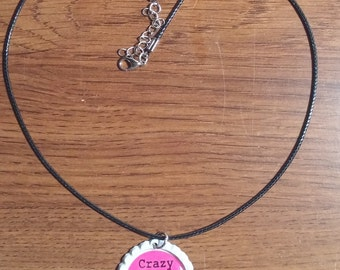Crazy Pink Lady Necklace, Plexus Swag
