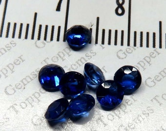 4mm Faceted Kyanite Round  - Nice Luster Top AAA Quality Faceted Kyanite Natural Loose Gemstone - Faceted Gemstone - FOR ONE
