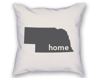 Nebraska Home Pillow