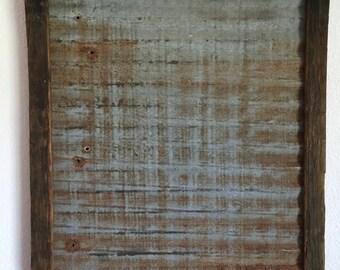Rustic Magnetic/memo  board 18x24