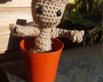 Baby Groot Crocheted