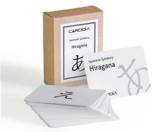 Japanese Syllabary - Hiragana flashcards