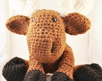 Crochet Plush Moose