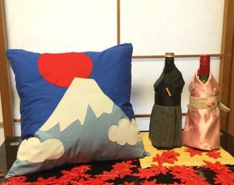 Mt Fuji Cushion Cover - throw pillow cover