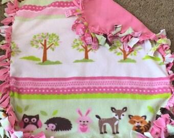 Fleece Baby Girl Blankets
