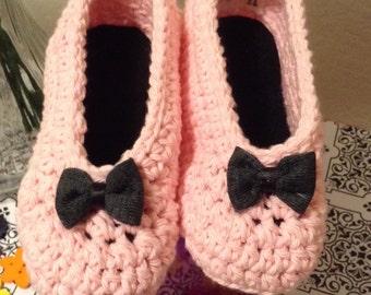 BABY BOOTIES CROCHET booties or slippers