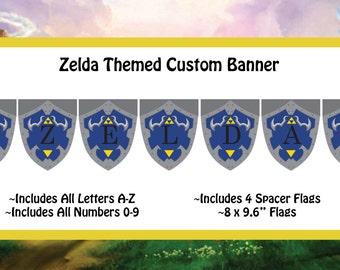 Zelda: Ocarina of Time Themed Custom Banner