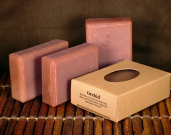 Orchid Handcrafted Soap