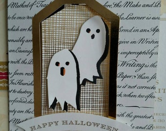 Set of two Halloween cards