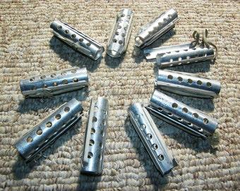 Set of Soviet curlers Vintage Hair Curlers Hair Rollers metal Vintage Curlers Hair