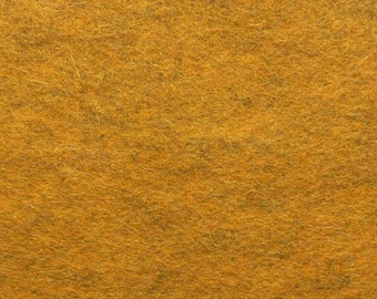 130 - Marigold - Merino Wool Felt