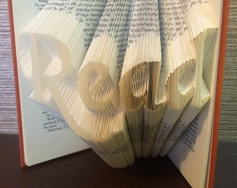 Read book fold
