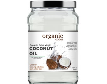 Organic Codes Virgin coconut oil