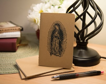 Mini Moleskine Journal, Our Lady Of Guadalupe— Free Shipping!