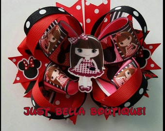 Minnie Mouse Girl Hairbow