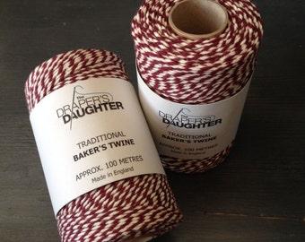 Baker's Twine Burgundy