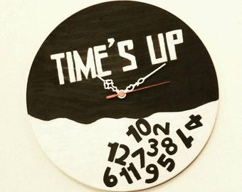 Times up wallclock