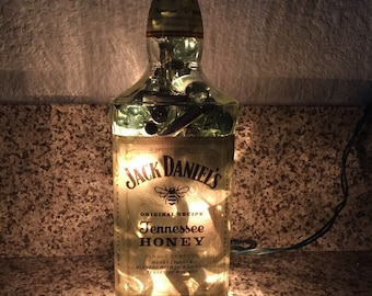 Lighted Jack Daniels Tennessee Honey Bottle