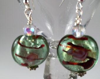 Hard Candy Green Earrings