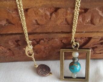 World Frame Necklace