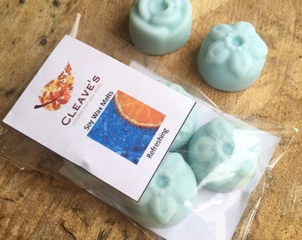 Refreshing Scented Soy Wax Melts
