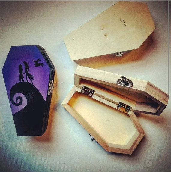 Nightmare Before Christmas Box By Wickett0188 On Etsy