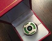 Hal Jordan  Guy Gardner Green Lantern Ring cw / tv / dc size 13