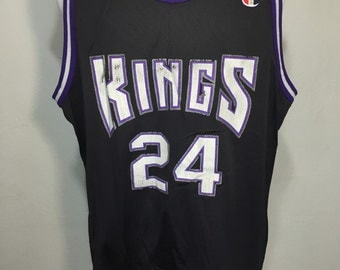90's champion NBA basketball jersey kings athletic wear size 52 XX-large