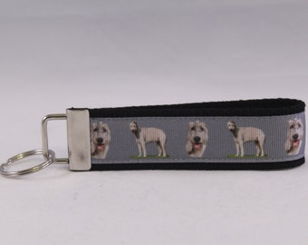 Irish Wolfhound Key Fob