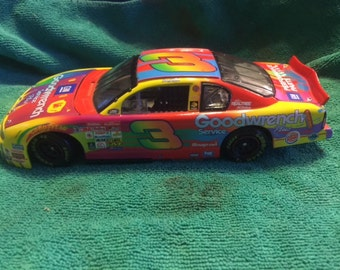 Dale earnhardt sr #3 ,peter max 1/24 scale nascar diecast,by action,a rare find,taking best offers.