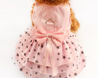 Dog Dress, Rose dog dress, pet clothing, pet dress, dog clothing, dog outfit,pet dresses, pet, dog