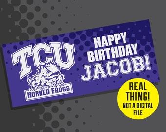 TCU Birthday - TCU Birthday Banner