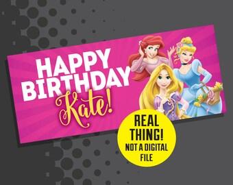 Disney Princess Birthday - Princess Birthday Banner