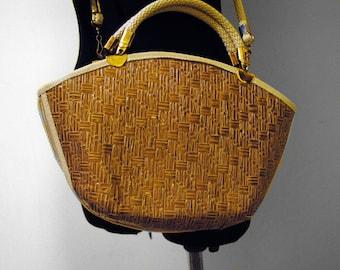 Vintage Wreathed Handbag/Shoulder bag