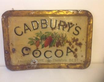 Cadbury internal shop sign, incredibly rare.