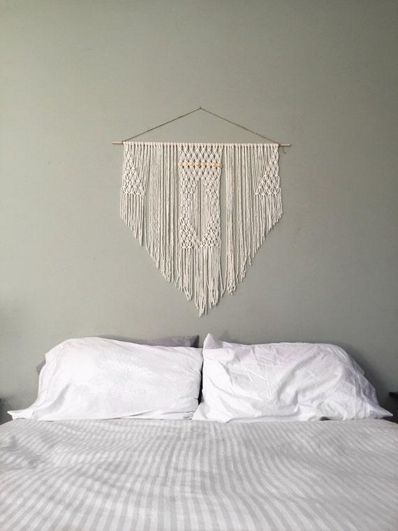 Macrame Headboard Hanging