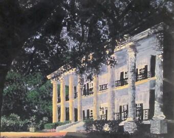 Mississippi Plantation original signed print