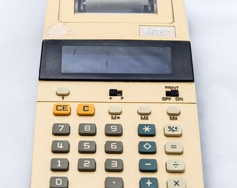 Vintage Canon P5-D Calculator