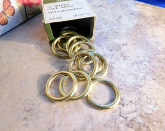 Vintage Gold Tone Cafe Rings