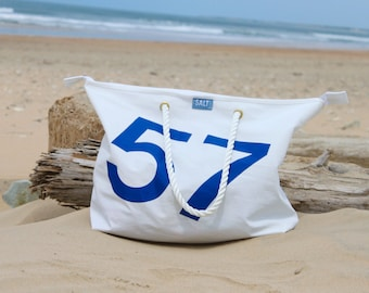 Recycled Sailcloth Large 'City' Shopper