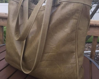The Kate: Italian Leather Tote Bag