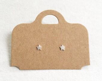 Dainty Star Earrings ~ Silver/Gold