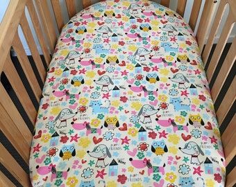 Cocoon Fitted Bassinet/Cot Sheet