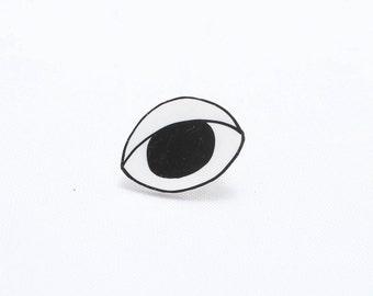 Eyeball Lapel Pin | Eye Lapel Pin | Eye jewelry | Eyeball Pin | Evil Eye Pin