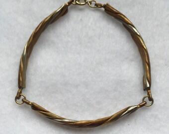 Vintage four metal bracelet