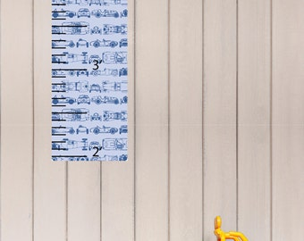 Race Car Growth Chart for Kids