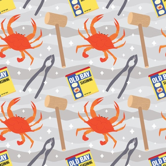 Maryland Old Bay Crab Blanket