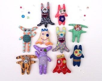 Fabric Dolls, Crazy Dolls, Happy Makers, Stuffed Animals, Plushies